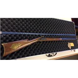Thompson Center black powder rifle, .45 cal. w/case, s#47130
