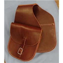 Colorado Saddlery un-used saddle bags, 1960's and rifle scabbard