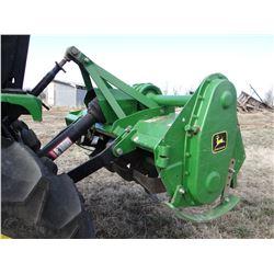 "JD 550 rototiller, 3 pt., 50"", fits JD 4100 utility tractor"