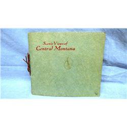 Scenic Views of Central Montana Souvenir booklet