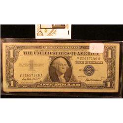 Series 1957 $1 Silver Certificate.