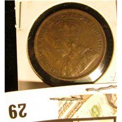 1916 Fine Canada Large Cent.