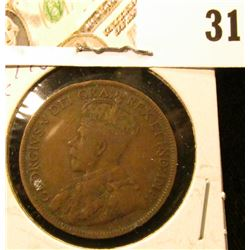 1918 Fine Canada Large Cent.