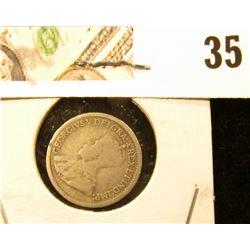 1912 Canada Five-Cent Silver.