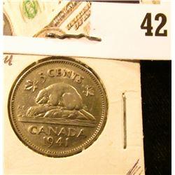 1941 AU Canada Nickel.