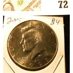 2005 P Kennedy Half Dollar, Gem Unc.