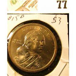 2015 D Sacagawea Dollar (Native American Dollar) Gem Uncirculated.