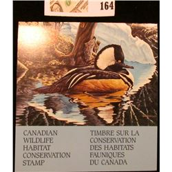 1993 Canadian Wildlife Habitat Conservation $8.50 Stamp in original mint holder.