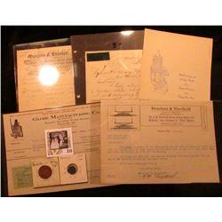 Dec. 22, 1938 Luther College Bulletin Volume XVIII  Number 4 (Decorah, Ia.); 1911 Perry, Ia. Invoice