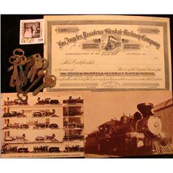 "1968 era Post Card depicting ""Virginia & Truckee Railroad, Early Railroading in Nevada"", oversized,"