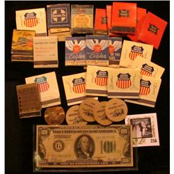 """Wind Up in Traer 1873.1973"", ""Souvenir/Half-Dollar/Redeemable/In Trade At/Centennial/Headquarters/O"