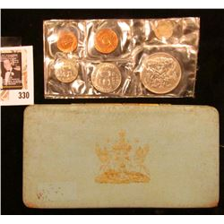1970 Trinidad Tobago Proof Set, which was struck at the Royal Mint in London. Only 2,104 Sets were e