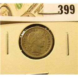 1903 Barber Dime, VF35, SHARP, value $20