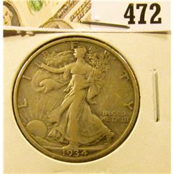 1934 Walking Liberty Half Dollar, XF, value $19