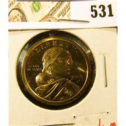 2000-S PROOF Sacagawea Dollar, value $12