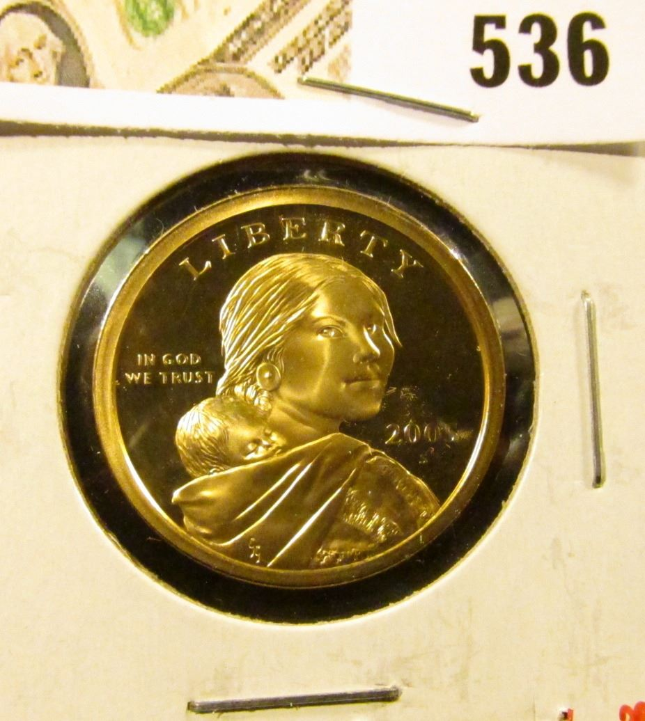 2005-S PROOF Sacagawea Dollar FREE SHIPPING ON ADDITIONAL COINS BOUGHT