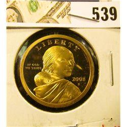 2008-S PROOF Sacagawea Dollar, value $10