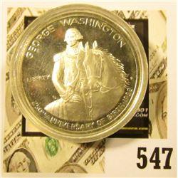 1982-S Silver Washington Commemorative Half Dollar, PROOF, value $10