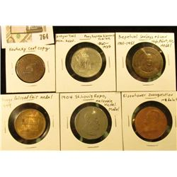 Five Medals: Perpetual Savings High Point, N.C.; Chicago Railroad Fair 1949; St. Louis Expo. 1904; O