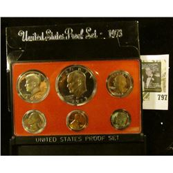1973 S U.S. Proof set in original box of issue.