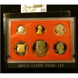 1982 S U.S. Proof set in original box of issue.