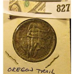1926 S U.S. Oregon Trail Commemorative Half Dollar, moderate toned Uncirculated.