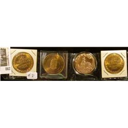 2 - 1957 Newton Centennial Coins, 1988 Bridge Festival Winterset Coin, 1972 Terrace Hill Preservatio