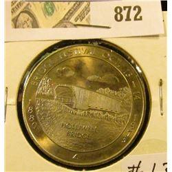 1973 Winterset #4 Bridge Festival Commemorative Coin
