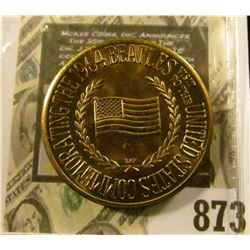 For Beatles Collectors! 1964 Beatles First U.S. Visit Original Issue Commemorative Medal