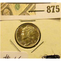 Mercury Dime 1937 D MS 65