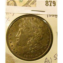 Morgan $ 1888  AU-55
