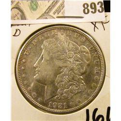 Morgan $ 1921-D  XF