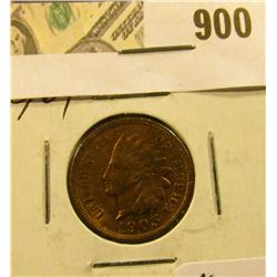 1905 Indian Head Cent  MS 63/64 lots of red !