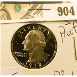1978 S Washington Quarter Proof  PR 69