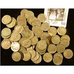72 NO DATE Buffalo Nickels