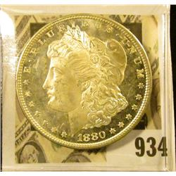 1880 S MS  DMPL Morgan Dollar