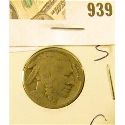 Buffalo Nickel 1918 S - Good - tougher date