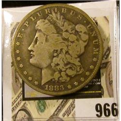 1883 P U.S. Morgan Silver Dollar, VG.