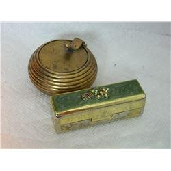 TRINKET BOX & LIP STICK CASE - 2 PC TTL