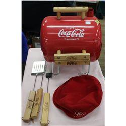Coca Cola Barbecue, Tools & Hat