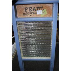 Miniature Pearl Scrub Board