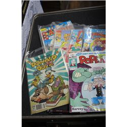 Bundle of Popeye and Archie Comic Books