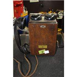 Short Wall Box Telephone - 'Northern Electric'