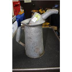 Metal 2 Quart Liquid Measure