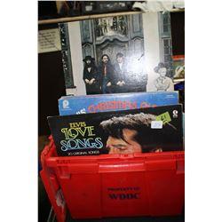 Flat of LP Albums - 9 Elvis Prestley & Other Artists