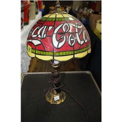 Coca Cola Table Lamp