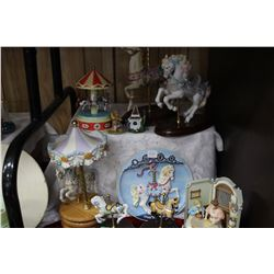 Collection of Carousel Horses & Ornaments