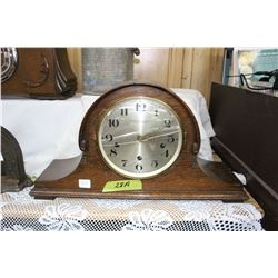 Newcastle Upon-Tyne Mantle Clock - Crystal is Cracked