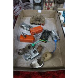 Flat with Mouse Trap Collection and Mice