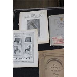 Collection of Antique Collector Books